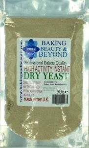 50g Instant Dried YEAST High Activity Bakers Bread Fast Making BUY 2 GET 1 FREE
