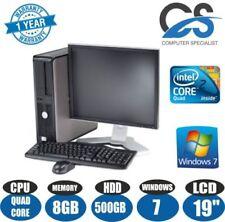 Desktop PC scheda grafica integrata con hard disk da 500GB Velocità processore 2.40GHz