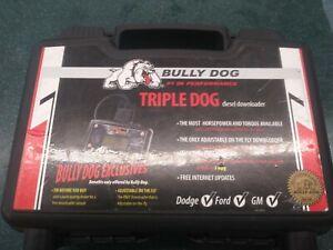 BULLY DOG Tuner  40502 TRIPLE DOG DIESEL DOWNLOADER Dodge Ford GM Powerstroke