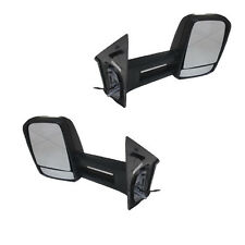 Pair of Side View Tow Mirrors Fit 2007- 2013 Mercedes-Benz Sprinter w/Signal