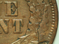 1866 Indian Cent *Snow 8 With Reverse Cud*