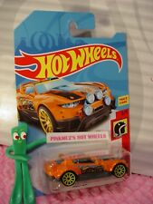 RALLY CAT 😸 orange; yellow 10sp😸5/5 HW DAREDEVILS✰2018 i Hot Wheels WW case J