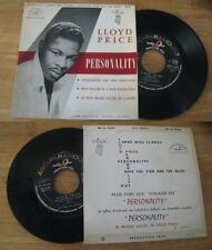 LLOYD PRICE - Personnality Rare French EP Soul Blues Sixties