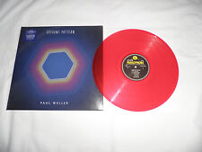 paul weller saturns pattern red vinyl new  ltd edition mod punk brit pop (rare)