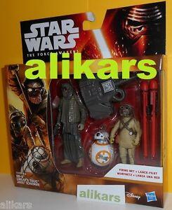 BB-8 + UNKAR'S THUG + JAKKU SCAVENGER  Firing Net - Star Wars -The Force Awakens
