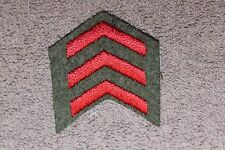 Original Ww1 Royal Canadian Army Three Year Wool Uniform Service Stripe/Chevron