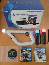Sony VR PSVR PlayStation Bundle CUH-ZVR2 + MANY EXTRAS!! Games, controllers!