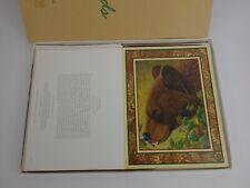 22 VTG Wildlife Federation Blank Note Cards 9 designs w/ENVELOPES 1995