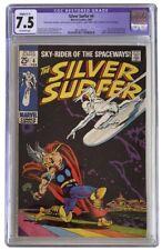 Silver surfer #4 CGC 7.5 Restored (slight C-1) BEAUTIFUL presents much higher