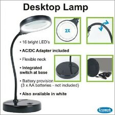 Triumph Desktop Magnifying Lamp - True Light, Table, LED, Craft, Hobby, Quilting
