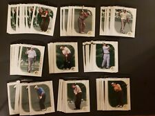 New listing 2001 Upper Deck golf lot of 280 SP Authentic preview Tiger Woods Nicklaus Sergio