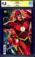 Flash #67 VARIANT CGC SS 9.8 signed John Wesley Shipp TV ACTOR CW FLASH NM/MT