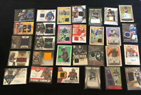 Lot Of 50 NFL Football Cards. All Within The Last 3 Years Plus An Auto Or Relic!