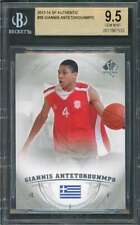 Giannis Antetokounmpo Rookie Card 2013-14 Sp Authentic #36 Bucks BGS 9.5