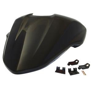 Passenger Rear Pillion Seat Cover Cowl Black For DUCATI Monster 821 1200 1200S