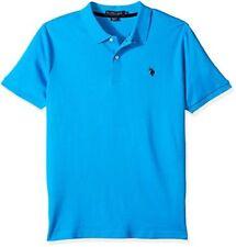U.S. Polo Assn. Mens Classic Fit Solid Short Sleeve Interlock Shirt
