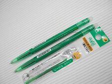2 pen +3 refill PILOT retractable FRIXION ball slim 0.38mm roller ball pen Green