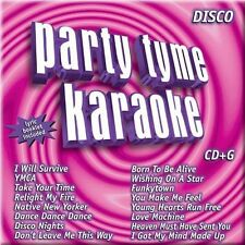 Party Tyme: Disco Hits by Sybersound (CD, May-2005, Sybersound)678