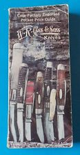 WR CASE & SONS CASE FACTORY ENDORSED POCKET PRICE GUIDE 1985 STORE COPY! STIDHAM