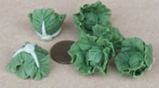 1 12 Scale Untrimmed Cabbage Vegetable Dolls House Garden Kitchen