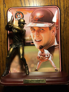 Cal Ripken Jr Farewell Tour Bradford Exchange Collectors Plate & Figure Orioles