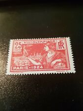 FRANCE TIMBRE JEUX OLYMPIQUES 1924 N°184 NEUF ** LUXE MNH  COTE 10€