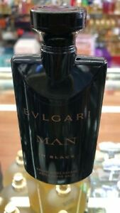 BVLGARI MAN IN BLACK AFTERSHAVE BALM 2.5 OZ / 75 ML NEW NO BOX FOR MEN