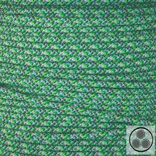 Textilkabel Stoffkabel Lampen-Kabel Stromkabel Elektrokabel  Green Top 3 adrig