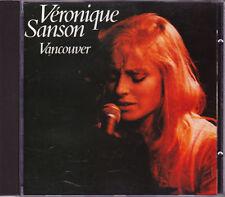 CD - Veronique Sanson - VANCOUVER - Import - VGC.