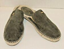 Michael Kors Womens 6.5 M Emillia Slides Suede Shoes Espadrille Sandals Size 6.5