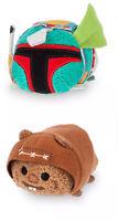 Disney Store Star Wars Tsum Tsum Boba Fett Wicket Warrick Ewok rare new