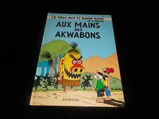 M Remacle : Le vieux Nick 7 Aux mains des Akwabons Editions Dupuis 1984