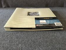 """Photo Album/Scrapbook Postbound 12"""" X 12"""" Lt. Green with Photo Window on Cover"""
