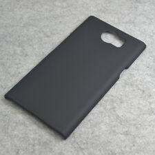 For Blackberry Priv New Black Snap On Rubberized hard case case back cover