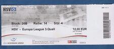 Orig.Ticket   Europa League  2009/10  HAMBURGER SV - RANDERS FC  !!  SELTEN