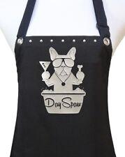 DAY SPAW dog Grooming apron pet groomer salon polyurethane waterproof black