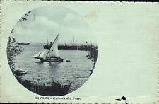 CARTOLINA DI SAVONA ENTRATA DEL PORTO 1920 C4-361