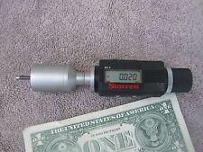 Starrett digital electronic internal bore micrometer .60 to .2   machinist tool