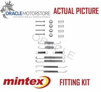NEW MINTEX REAR BRAKE SHOES SET FITTING KIT PIN SPRINGS GENUINE QUALITY MBA726