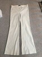 THEORY Womens Cotton Pants Size 8 New Without Tags