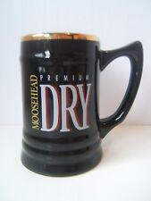 Moosehead Premium Dry Black Beer Mug Cup Glass