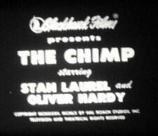 THE CHIMP Super 8mm SOUND Blackhawk Films 600' Laurel & Hardy - Orig Box