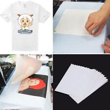20/30/80/100 Sheets A4 Iron Print Heat Transfer Paper For Light & Dark Cotton