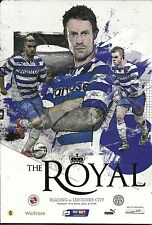 READING v LEICESTER CITY 14.04.14 CHAMPIONSHIP PROGRAMME