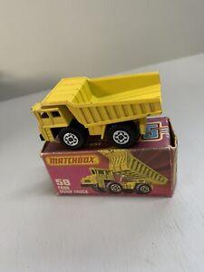 Matchbox Superfast 58 Faun Dump Truck