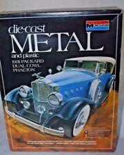 1978 Monogram 1931 Packard Dual Cowl Phaeton Die Cast Metal Model 6201