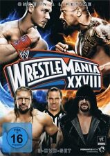 WWE Wrestlemania XXVIII 28 + Hall of Fame 2012 Orig 3 DVDs WWF Wrestling