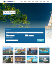 Hottest Turnkey Travel Website Make $1 -$4/Click + 1 YEAR HOSTING FREE