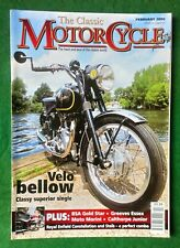 The Classic Motorcycle Magazine Volume 32 #2 Velocette Venom~BSA ZB34 Gold Star