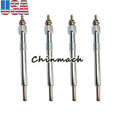 4 Pieces Glow Plugs 6684850 For Bobcat T110 T140 T180 T190 5610 331 334 335 337